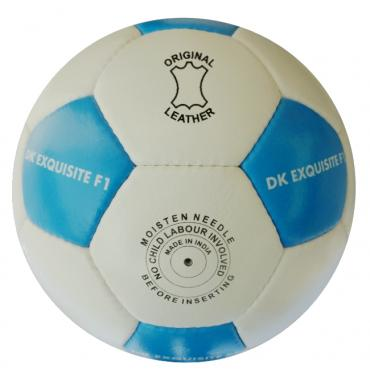 Match Ready Real Leather Football